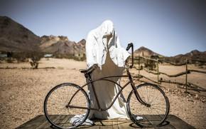 Картинка велосипед, призрак, Ghost Rider, привидение
