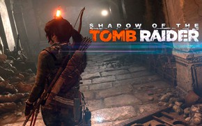 Картинка огонь, волосы, Tomb Raider, Лара Крофт, ловушки, Shadow of the Tomb Raider