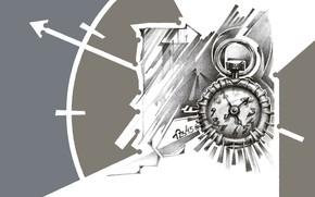 Картинка графика, компьютерная графика, часы, брегет, хронометр, старые часы, рисунок карандашом, breguet, старый хронометр, рисунок, 2D …