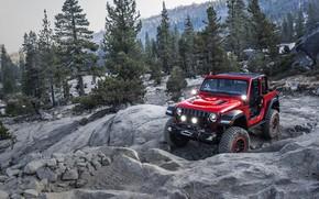 Обои with, Mopar, Jeep Wrangler, 2018 Jeep Wrangler with Mopar Jeep Performance Par, Jeep Performance Parts