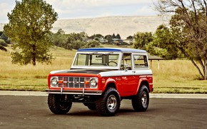 Картинка Ford, Classic, Off Road, Bronco
