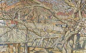 Картинка EARLY SPRING oil on canvas, Сотбис, Abraham Manievich