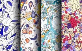 Картинка узор, текстура, colorful, patterns, seamless, пейсли