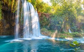 Картинка водопад, Турция, Анталья