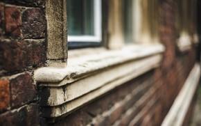 Картинка город, дом, окно