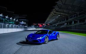 Картинка Ferrari, суперкар, гоночный трек, 2019, Tributo, Ferrari F8