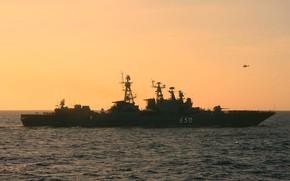 Картинка корабль, противолодочный, Адмирал Чабаненко, проект1155. 1