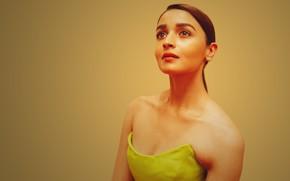 Картинка girl, eyes, smile, beautiful, model, lips, face, hair, indian, actress, celebrity, bollywood, Alia bhatt