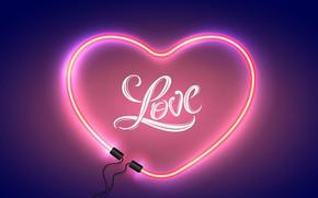 Картинка свет, любовь, романтика, сердце, love, happy, heart, Valentine's Day