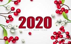 Картинка украшения, праздник, Новый год, New Year, декор, 2020