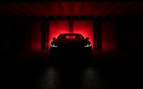 Картинка фон, купе, BMW, тёмный, AC Schnitzer, 8-Series, 2019, 8er, G15, M850i, ACS8 5.0i