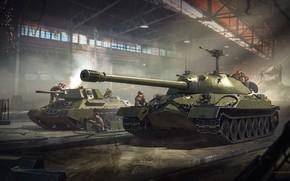 Картинка люди, танки, военные, War Thunder