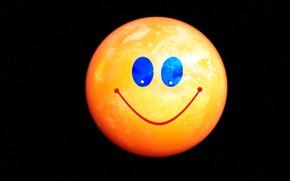 Картинка улыбка, настроение, смайлик
