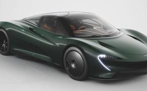 Картинка Green, Hypercar, 2020, McLaren Speedtail