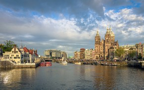 Картинка Амстердам, Нидерланды, Голландия