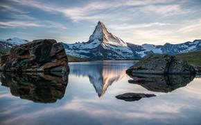 Картинка Nature, Switzerland, Mountain, Lake, Matterhorn