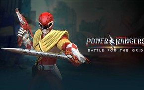 Картинка sword, game, armor, weapon, warrior, Power Rangers, red ranger, blaster, Jason Lee Scott, Джейсон Ли …