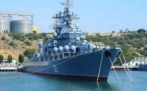 Картинка москва, крейсер, ракетный, гвардейский