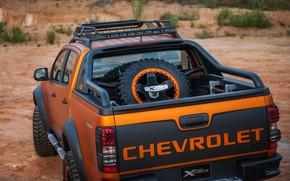 Картинка Chevrolet, пикап, 4x4, Colorado, корма, Z71, 2016, Xtreme Concept
