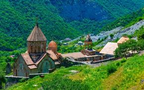 Картинка горы, монастырь, Армения, Dadivank monastery