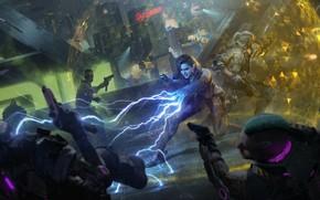 Картинка Геральт из Ривии, CD Projekt RED, Cyberpunk 2077, Ведьмак 3 Дикая Охота, Yennefer of Vengerberg, …