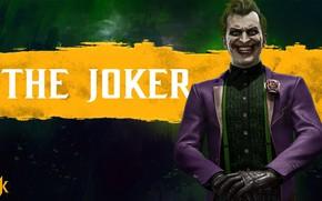 Картинка Джокер, боец, персонаж, The Joker, Mortal Kombat 11, Смертельная Битва 11