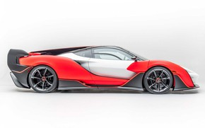 Картинка купе, coupe, sports car, exterior, спортивный автомобиль, light background, McLaren Sabre