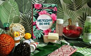 Картинка лето, духи, мыло, книга, папоротник, soap, косметика, book, cosmetics, fern
