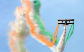 Картинка самолет, Индия, авиашоу, биплан, Бангалор, Аэро Индия