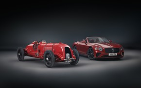 Картинка машины, Bentley, Continental GT, convertible, Mulliner, Number 1Edition