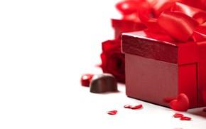 Картинка розы, подарки, сердечки, День святого валентина, Natalia Klenova