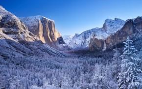 Картинка Калифорния, США, Йосемити, Сьерра-Невада