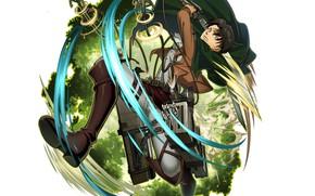 Картинка Shingeki No Kyojin, Атака титанов, капрал Леви