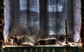 Картинка фон, окно, газета