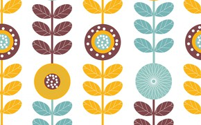 Картинка белый, фон, узор, текстура, Background, Pattern, Floral, Seamless