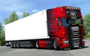 Картинка игра, грузовик, Euro Truck Simulator 2, SCS Software