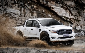 Картинка белый, Ford, пикап, Storm, Ranger, 2020