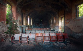 Картинка фон, стулья, зал