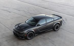 Картинка Dodge, Charger, AWD, 2019, SpeedKore, SEMA 2019, Twin Turbo Carbon