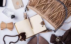 Картинка стиль, блокнот, сумка, аксессуары, Stolyevych Yulia
