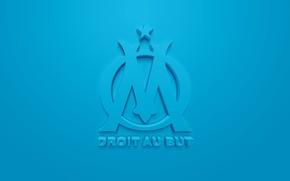 Картинка wallpaper, sport, logo, football, Ligue 1, Olympique Marseille