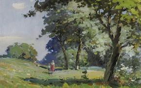 Картинка картина, Пейзаж, 1932, Vasili Svarog, Василий Сварог