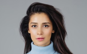 Картинка взгляд, поза, портрет, макияж, актриса, певица, hair, фотомодель, Равшана Куркова, Ravshana Kurkova