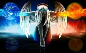 Картинка добро, борьба, ангел, зло