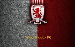 Картинка wallpaper, sport, logo, football, English Premier League, Middlesbrough