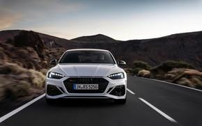 Картинка дорога, Audi, вид спереди, RS5, Sportback, RS 5, 2020