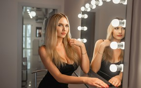 Картинка dress, model, pretty, Beauty, Blonde, Георгий Дьяков
