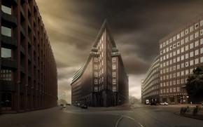 Картинка Germany, Hamburg, Chilehaus