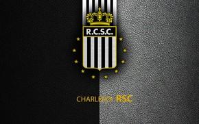 Картинка wallpaper, sport, logo, football, Belgian Jupiler PRO-League, RSC Charleroi
