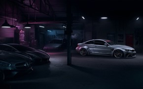 Картинка Lamborghini, BMW, Nissan, NFS, Art, Home, Mersedes, Need For Speed, Garage, Mikhail Sharov, Transport & …